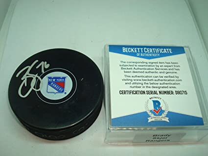 Image Unavailable. Image not available for. Color  Autographed Brady Skjei  ... 0b6bc68d3