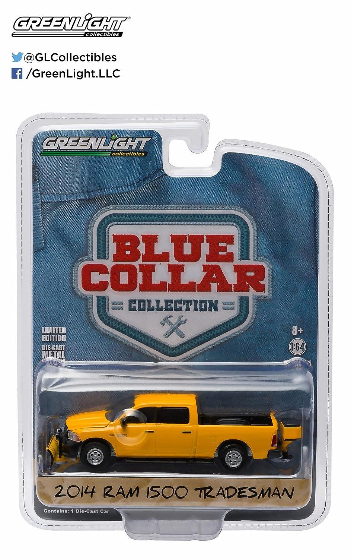 "Ram 1500 Tradesman /""BLUE COLLAR/"" *Greenlight* 1:64 OVP NEU Limited Edition"