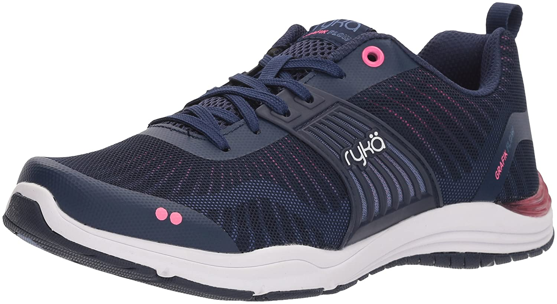 bluee Pink Ryka Women's Grafik Flow Cross Trainer