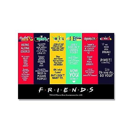 MMc Sid Razz Friends TV Series Character Rectangular Fridge Magnet Birthday Gift Return Officially Licensed By Warner BrosUSA Amazonin Office