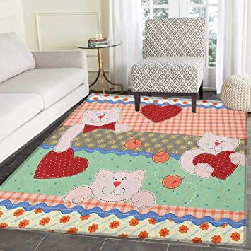 Super Shabby Chic Rugs For Bedroom Funny Teddy Bears With Hearts Home Interior And Landscaping Synyenasavecom
