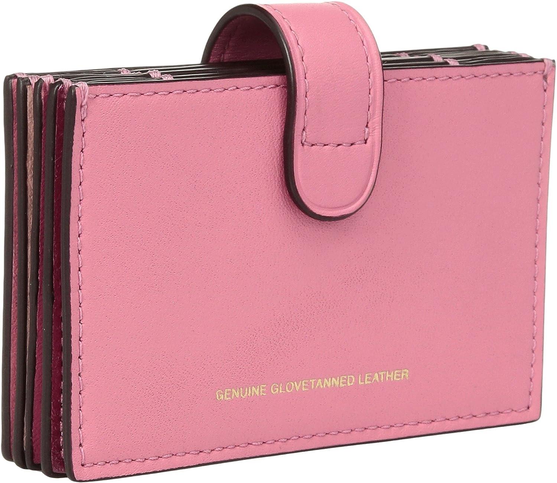 e93efa2ec0bc COACH Women s Color Block Accordion Card Case Dk Bright Pink Multi One  Size  Amazon.ca  Shoes   Handbags