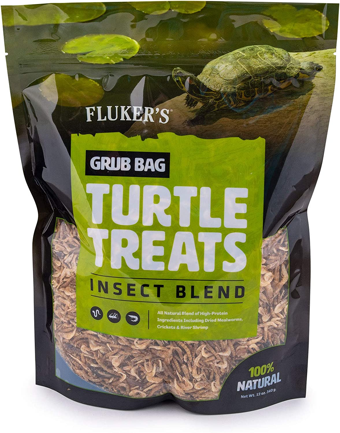 Fluker's Grub Bag Turtle Treat