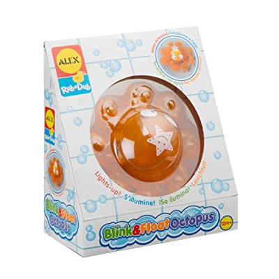 ALEX Toys Rub a Dub Blink & Float Octopus: Toys & Games