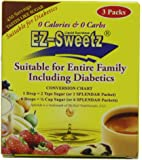 3 Packs 0.5 oz - Liquid Sweetener 450 Servings/Bottle