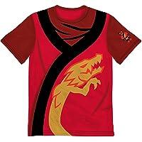 Ninjago Boys Costume T Shirt (Red, 7)