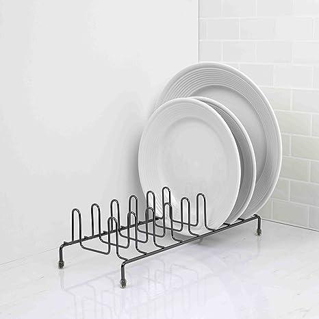 Amazon.com: Home Basics Heavyweight placa Organizador Rack ...