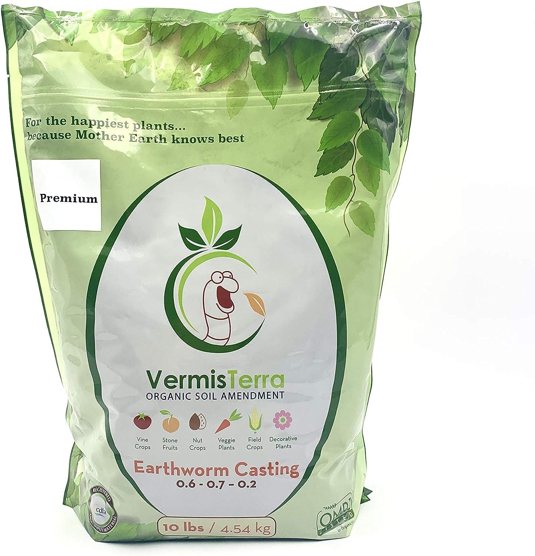 VermisTerra - Premium Earthworm Castings - Organic