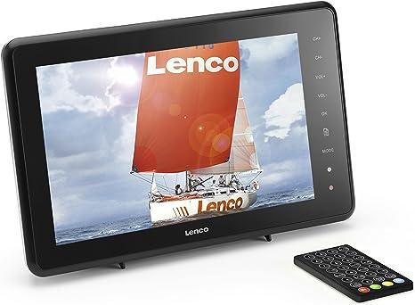 Lenco TFT-1021 - Televisor (TFT, 26 cm (10 Pulgadas), DVB-T, USB 2.0): Amazon.es: Electrónica