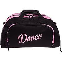 Silver Lilly Womens Nylon Dance Sport Duffel Gym Bag