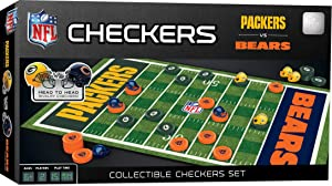 MasterPieces NFL Green Bay Packers vs. Chicago Bears Checkers Board Game