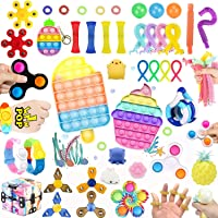 45 Pcs Fidget Toys Set Pack Cheap,Figetget toys set Pack,Sensory Relief Toys Set, Anxiety Relief Fidget Toys With…