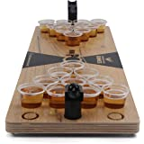 Grown Man Games Mini Beer Pong - Drinking Game - Party Game - Beer Game - Tabletop Beer Pong Table - Mini Pong Mini Game - Ta