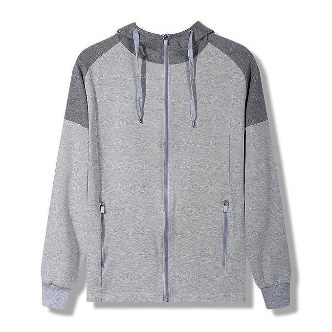 YFF Hombres Sudaderas de Manga Larga, suéter Flojo Streetwear Outwear Manto Macho: Amazon.es: Ropa y accesorios