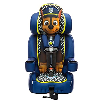 KidsEmbrace Paw Patrol Booster Car Seat Nickelodeon Chase Combination 5 Point Harness