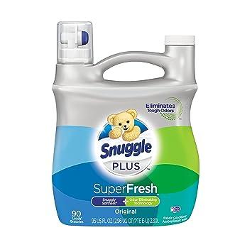 c1e0758dda Snuggle Plus Super Fresh Liquid Fabric Softener with Odor Eliminating  Technology