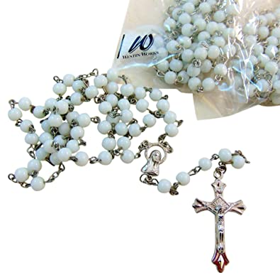 Amazon com: Pack of 10 Rosaries Set Bulk Rosary Lot with