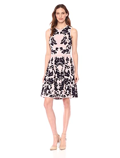 Eliza J Womens Fit And Flare Sweater Dress At Amazon Womens