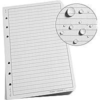"Rite in the Rain Weatherproof Loose Leaf Paper, 4.625"" x 7"", 32# Gray, Universal Pattern, 100 Sheet Pack (No. 772)"
