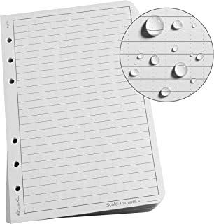 """product image for Rite In The Rain Weatherproof Loose Leaf Paper, 4 5/8"""" x 7"""", 32# Gray, Universal Pattern, 100 Sheet Pack (No. 772)"""