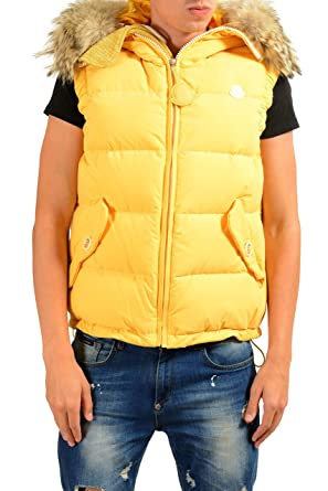 bb21bba58563 germany moncler vest yellow 87913 8c3b8