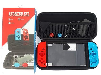 Funda protectora con accesorios para Nintendo Switch. Funda ...