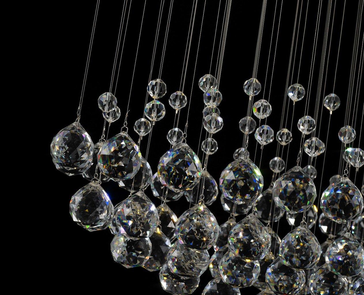 Kronleuchter Breit Kristall ~ Wenseny kronleuchter kristall deckenleuchte kristalllampen mit