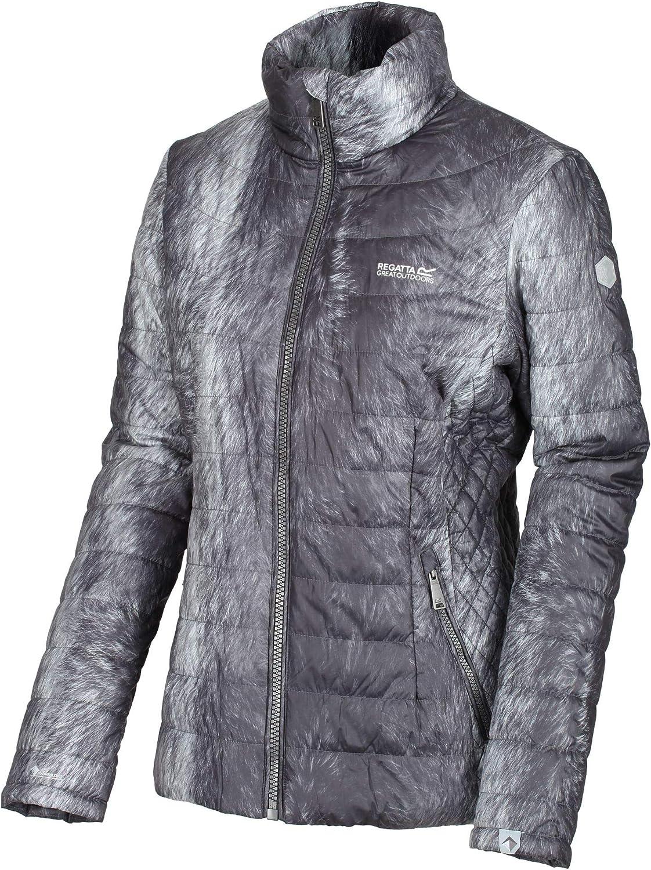Mujer Regatta Womens Metallia II Lightweight Water Repellent Down-Touch Atomlight Insulated Puffa Jacket Chaquetas Acolchadas