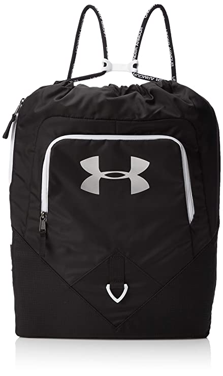 e558f8e5a33c Under Armour Synthetic 15 inches Black Drawstring Gym Bag (1261954 ...