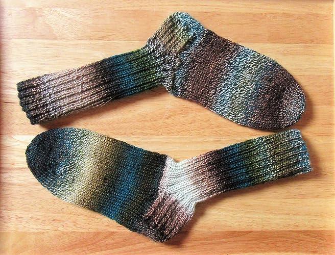 Tejido a mano/tejido a mano/calcetines / medias de lana/Schoppel -