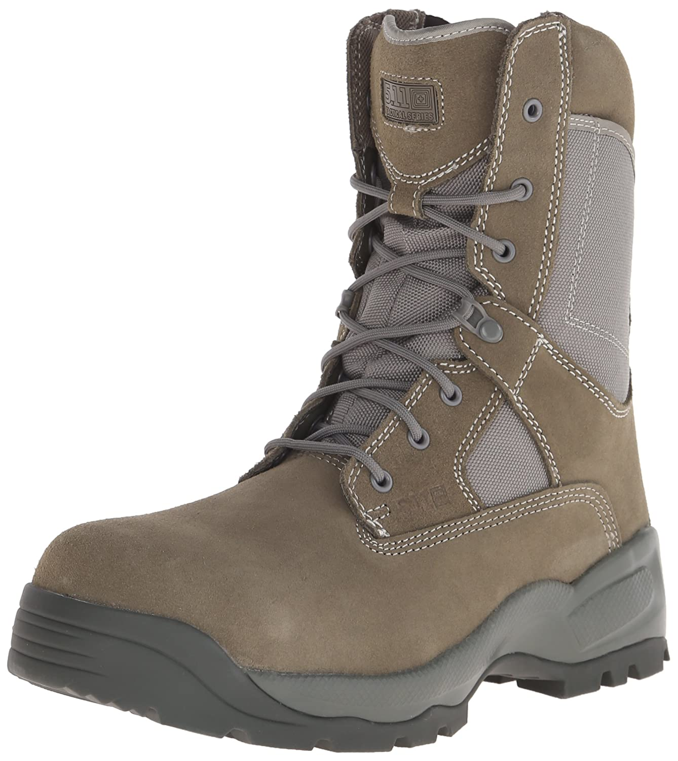 "5.11 Men's A.T.A.C. SAGE 8"" Side Zip CST Tactical Boot with Safety Toe"