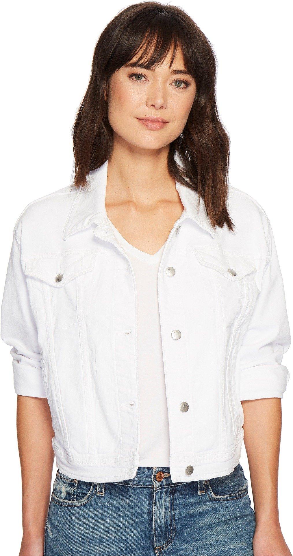 Joe's Jeans Women's Artemis Jacket, Destructed White, S