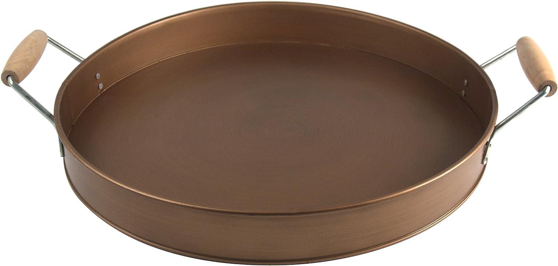 Artland Masonware Party Tray, Antique Copper