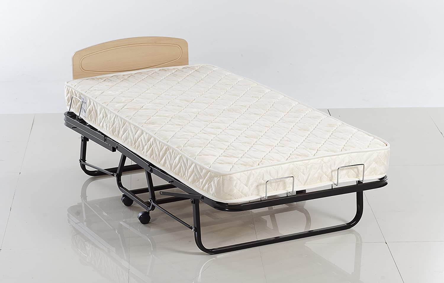Amazon.com: Istikbal Omega Folding Portable Rollaway Bed on Wheels: Kitchen  & Dining