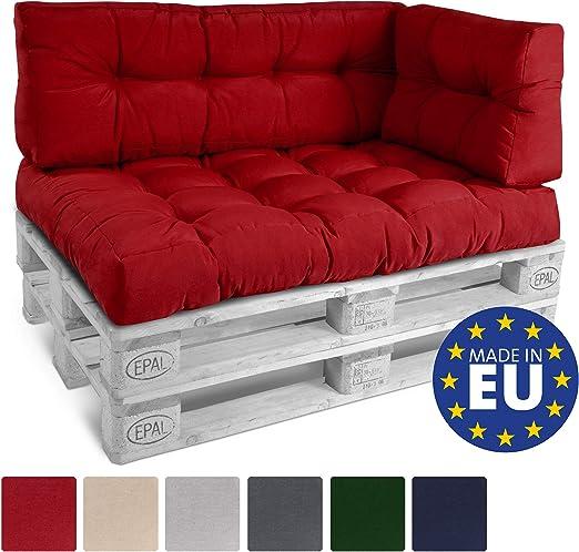 Cuscini Per Divano Rosso.Beautissu Cuscino Per Spalliera Di Divani Per Bancali O Pallet Eco