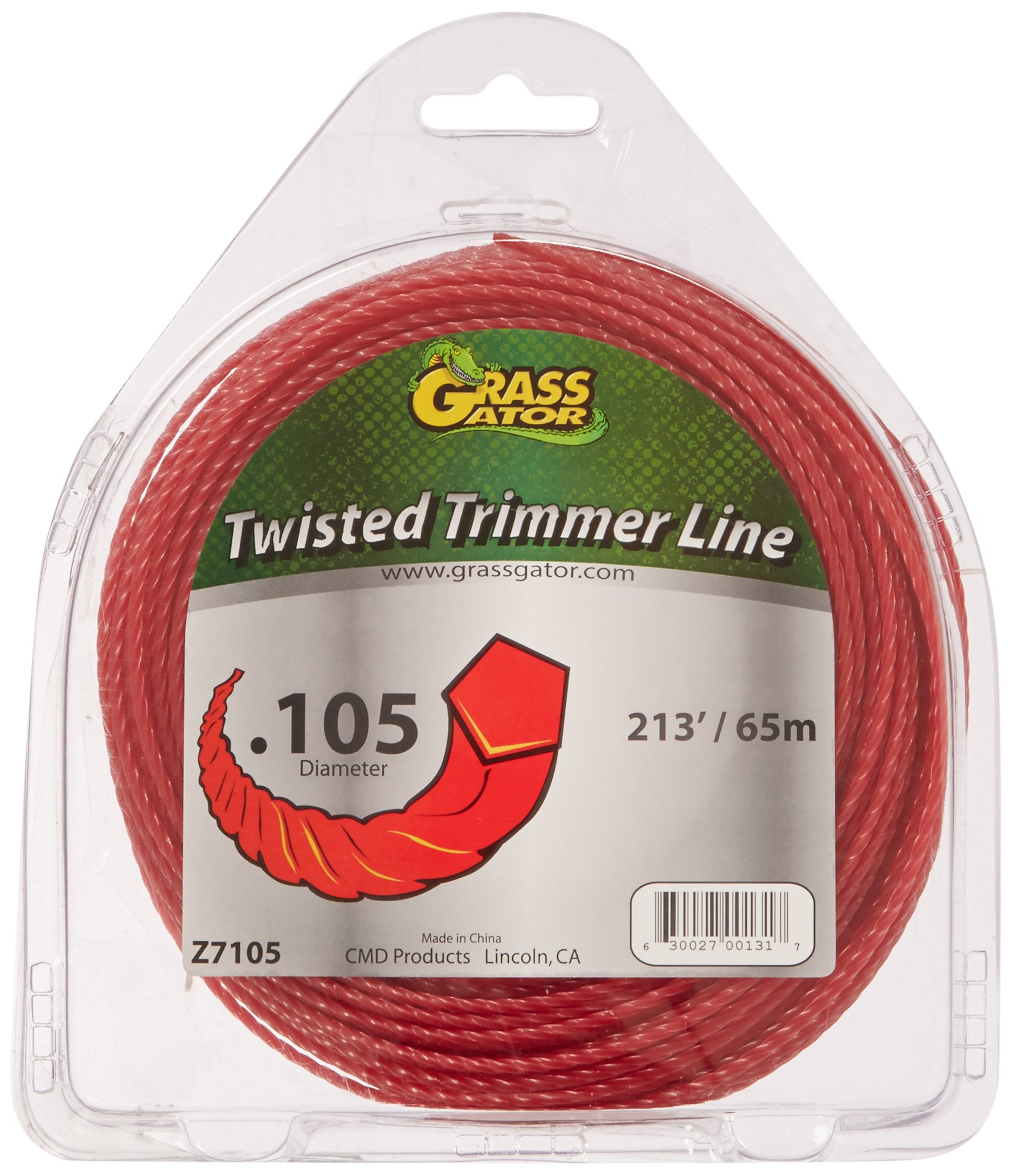 Grass Gator Z7105 Zip String Trimmer Line Pro Large Donut 213-Feet x .105 by Grass Gator