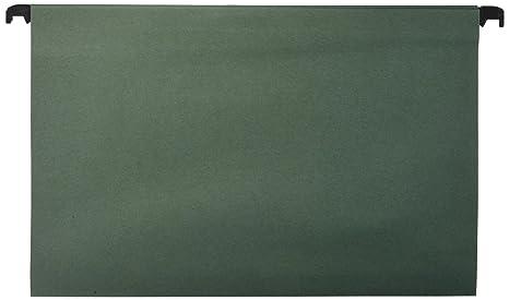 Carpetas colgantes tamaño folio (10 unidades)