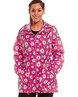 New Women's Raincoat Mac lightweight rain parka Shower jacket