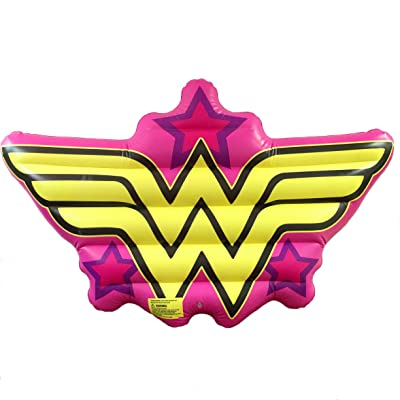 Edge Brands Wonder Woman Logo Pool Float: Toys & Games