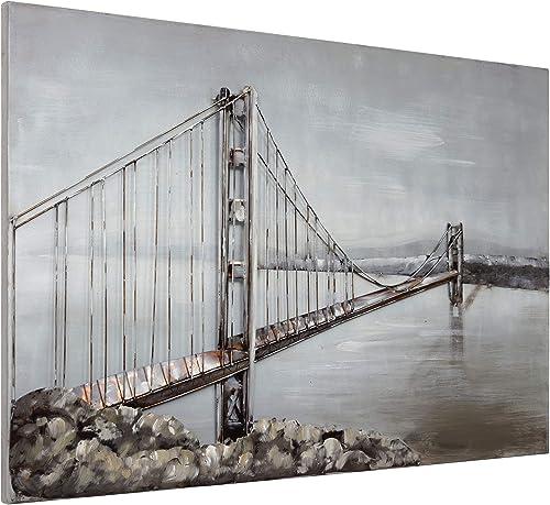 Empire Art Direct Golden Gate Bridge Metal