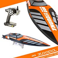 zoopa Acme Thunder | 800 Speedboot Professional | inkl. 2,4Ghz Fernsteuerung | Ready to Race (ZA0800)