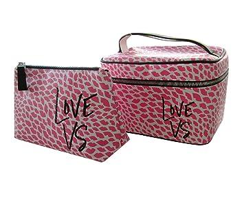Amazon.com: Victoria s Secret belleza bolsa de viaje Duo ...