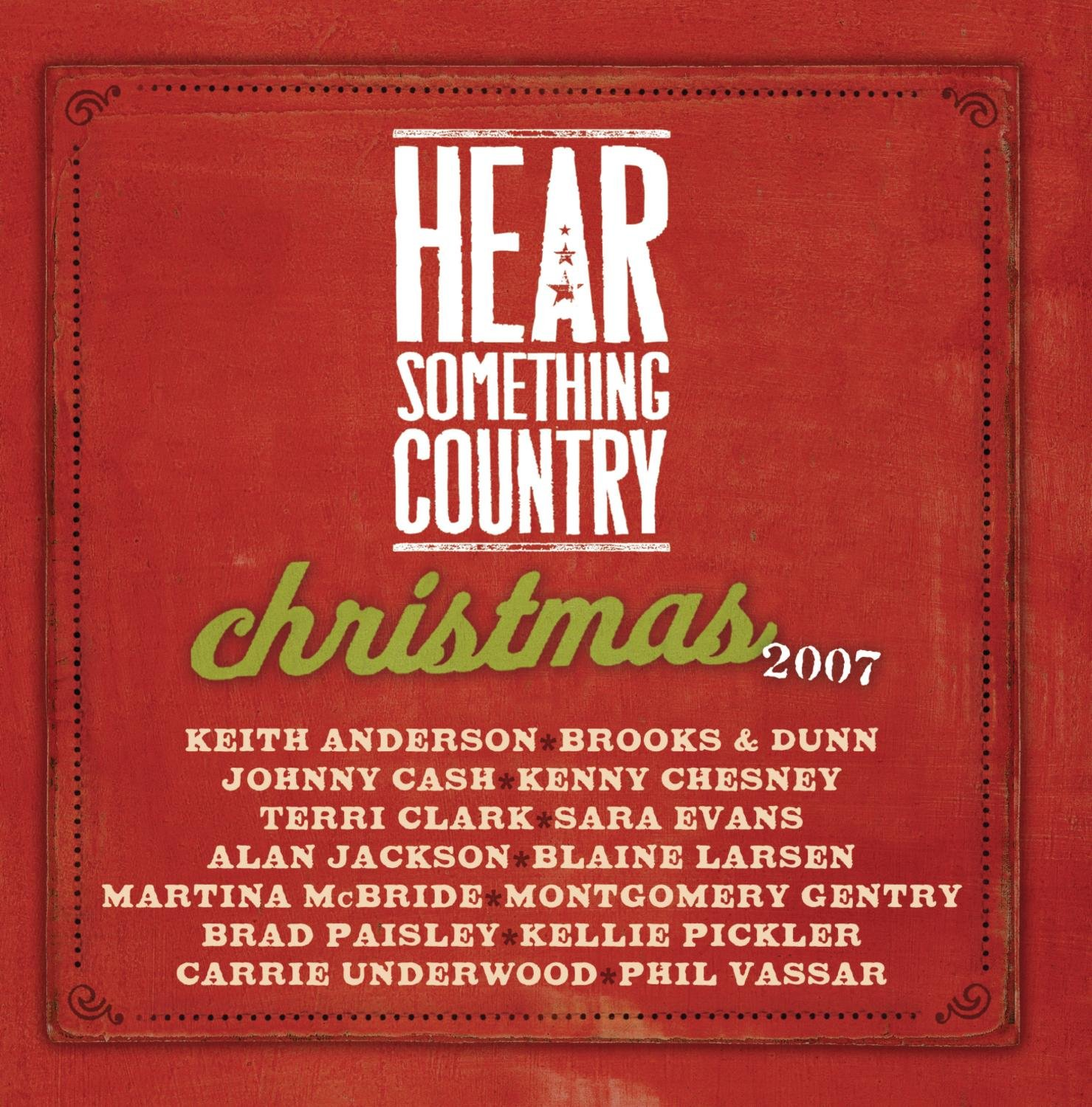 Various artists Hear Something Country Christmas Amazon Music