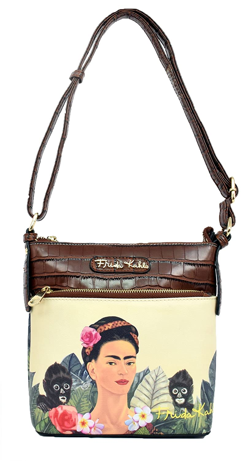 Frida Kahlo Jungle Series Crossbody Messenger Bag