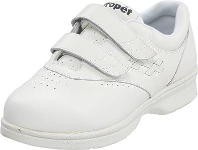 59cd501f85 Propet Women's W3915 Vista Walker Sneaker,White Smooth,6 M (US Women's 6