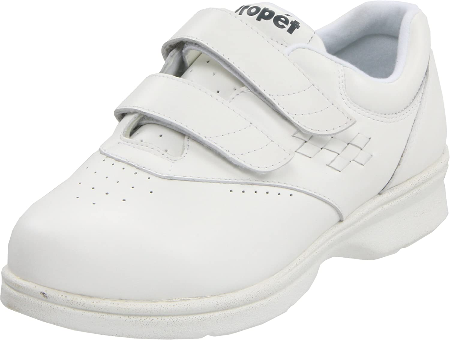 Propet Women's Vista Strap Sneaker B000BO9XEO 8.5 M (US Women's 8.5 B)|White Smooth