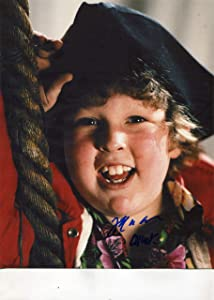 """JEFF COHEN""""Chunk"""" classic signed""""The Goonies"""" 8x10 photo"""