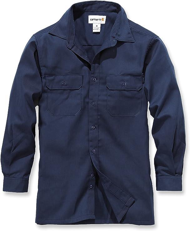 Carhartt - Camiseta - para Hombre Azul Marino Medium: Amazon.es: Ropa y accesorios