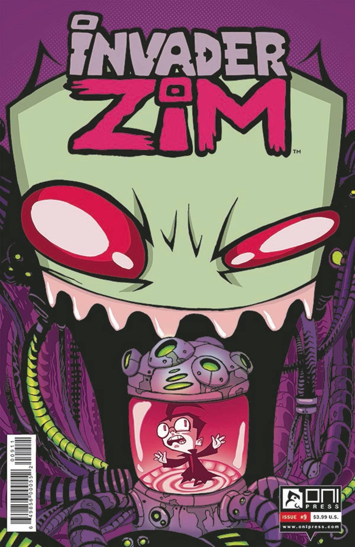 Read Online INVADER ZIM #9 Cover A pdf epub