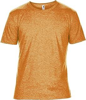 Anvil Mens Plain Short Sleeve Tri-Blend T-Shirt